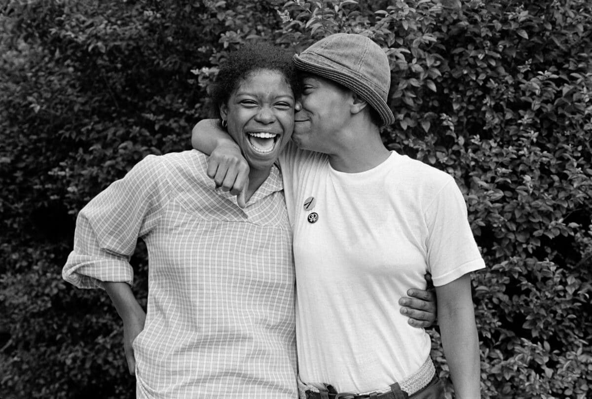 """© JEB (Joan. E. Biren) from her book 'Eye to Eye: Portraits of Lesbians"""" published by Anthology Editions"""