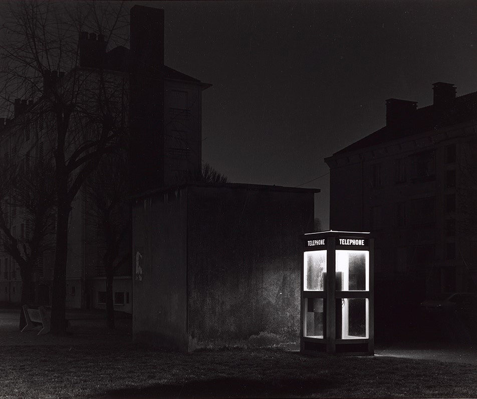 Gilbert Fastenaekens, Le Havre de la série Nocturne / © BnF - Département des Estampes et de la photographie © Gilbert Fastenaekens