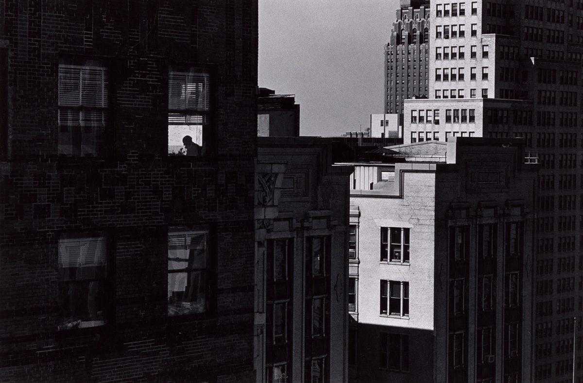 Charles Harbutt, Fonctionnaire, quartier de l'Hôtel de Ville, New-York, de la série The World / © BnF - Département des Estampes et de la photographie © Charles Harbutt