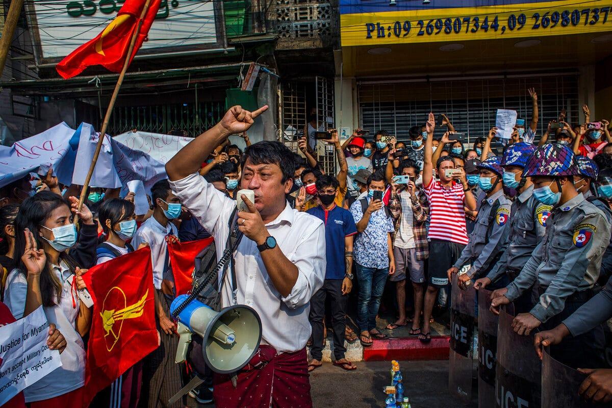© Photographe anonyme en Birmanie pour The New York Times