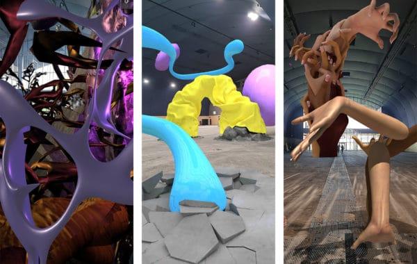 Captures d'écrans, Palais Augmentée © Gobelins ; Manuel Rossner ; Mélodie Mousset